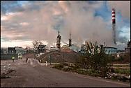 Industrial site in Marconne, France on 15 November, 2007