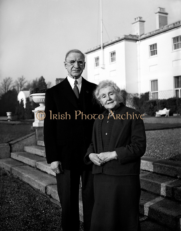 Golden Wedding Anniversary of de Valeras.07.01.1960