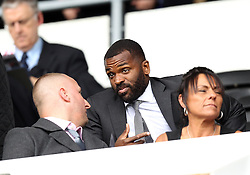 Darren Bent of Derby County takes his seat in the stands at The iPro after not being selected in the match day squad against Brentford - Mandatory byline: Robbie Stephenson/JMP - 07966 386802 - 03/10/2015 - FOOTBALL - iPro Stadium - Derby, England - Derby County v Brentford - Sky Bet Championship