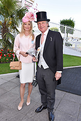 Ben & Lucy Sangster at The Investec Derby, Epsom, Surrey England. 3 June 2017.<br /> Photo by Dominic O'Neill/SilverHub 0203 174 1069 sales@silverhubmedia.com