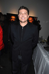 KENNY GOSS friend of singer George Michael, at a private view of Octagan a showcase of work of photographer Kevin Lynch featuring the stars of the Ultimate Fighter Championship held at Hamiltons gallery, Mayfair, London on 17th January 2008.<br /><br />NON EXCLUSIVE - WORLD RIGHTS