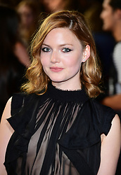 Holliday Grainger attending The world premiere of My Cousin Rachel held at Picturehouse Central Cinema in Piccadilly, London.