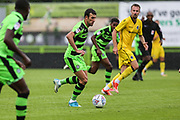 Forest Green Rovers Christian Doidge(9) runs forward during the Pre-Season Friendly match between Forest Green Rovers and Bristol Rovers at the New Lawn, Forest Green, United Kingdom on 22 July 2017. Photo by Shane Healey.