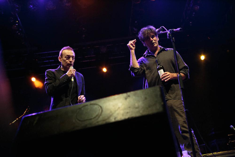 Milano, 17 giugno 2016. Festa di Radio Popolare al Pini. Concerto di Bobo Rondelli. Mauro Ermanno Giovanardi.