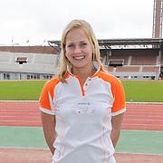 NLD/Amsterdam/20120306 - Presentatie olympisch team NUON - NOC-NSF Vattenfall, beachvolleybalster Marleen van Iersel