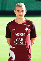 Gauthier Hein of Metz during photoshooting of Fc Metz for season 2017/2018 on August 2nd 2017 in Metz<br /> Photo : Fred Marvaux / Icon Sport