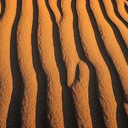 Desert sand texture, Erg Chegaga, Morocco (November 2006)