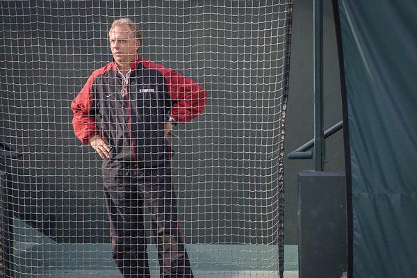 John Whitlinger, Head Coach, Stanford University<br /> Stanford vs Univ of San Diego