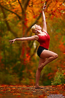 Dance As Art New York City Photography Fall Color Series with dancer, Alyssa Ness