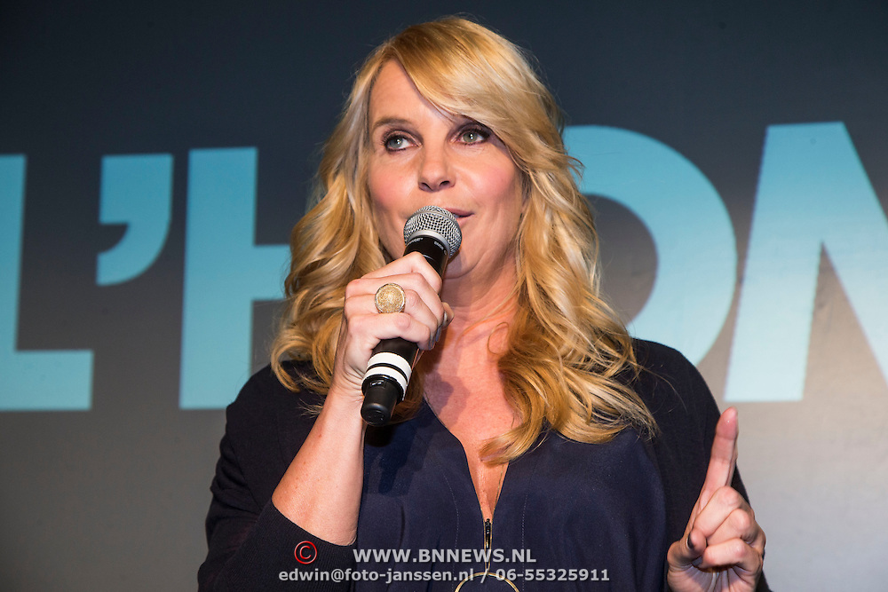 NLD/Amsterdam/20140416 - Presentatie L' Homo 2014, Linda de Mol