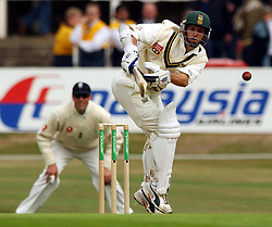 South Africa's Gary Kirsten in action during the fourth npower test match between England and South Africa at Headingley, Yorkshire.