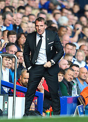 Liverpool Manager, Brendan Rodgers  - Mandatory byline: Matt McNulty/JMP - 07966 386802 - 04/10/2015 - FOOTBALL - Goodison Park - Liverpool, England - Everton  v Liverpool - Barclays Premier League