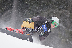 Dmitry Sarsembaev (RUS) competes during Qualification Run of Men's Parallel Giant Slalom at FIS Snowboard World Cup Rogla 2016, on January 23, 2016 in Course Jasa, Rogla, Slovenia. Photo by Ziga Zupan / Sportida