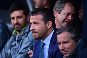 Fulham First Team Head Coach Slavisa Jokanovic during the EFL Sky Bet Championship play off first leg match between Fulham and Reading at Craven Cottage, London, England on 13 May 2017. Photo by Jon Bromley.