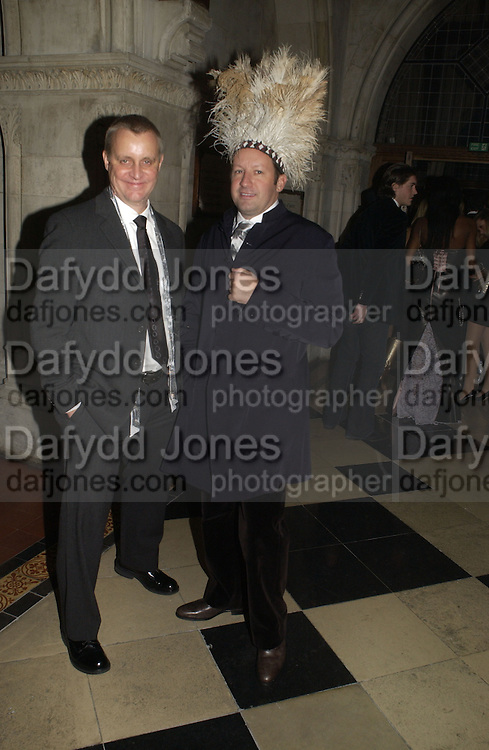 TRIP HAEMISH AND GORDON VENEKLASEN Andy and P{atti Wong host  party to cleebrate then Chinese New Year of the Dog. Royal Courts of Justice. Strand. London. 28 January 2006. © Copyright Photograph by Dafydd Jones 66 Stockwell Park Rd. London SW9 0DA Tel 020 7733 0108 www.dafjones.com