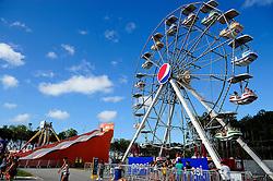 Roda Gigante no Planeta Atlântida 2014/SC, que acontece nos dias 17 e 18 de janeiro de 2014 no Sapiens Parque, em Florianópolis. FOTO: Vinícius Costa/ Agência Preview