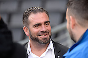 Port Vale manager Bruno Ribeiro  during the EFL Sky Bet League 1 match between Milton Keynes Dons and Port Vale at stadium:mk, Milton Keynes, England on 9 October 2016. Photo by Dennis Goodwin.