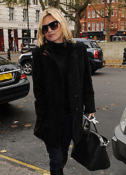Model Kate Moss out and about in Sloane Square Chelsea and Westminster. London. UK. 20/11/2012<br />BYLINE MUST READ : GOTCHAIMAGES.COM<br /><br />Copyright by © Gotcha Images Ltd. All rights reserved.<br />Usage of this image is conditional upon the acceptance <br />of Gotcha Images Ltd, terms and conditions available at<br />www.gotchaimages.com