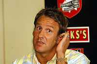 Photo. Richard Lane<br /> Paul Merson signs for Walsall from Portsmouth. 18/07/2003