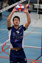 21-12-2013 VOLLEYBAL: BEKER ZAANSTAD - PRINS VCV: ZAANSTAD<br /> Guido Spooren, Zaanstad<br /> ©2013-FotoHoogendoorn.nl / Pim Waslander