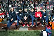 ALKMAAR - 19-12-2015, AZ - FC Utrecht, AFAS Stadion, 2-2, Maarten Gozeling voor het laatst op de bank bij AZ (2vr), gaat naar PSV.
