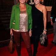 NLD/Amsterdam/20121112 - Beau Monde Awards 2012, Caroline Tensen en docher Lotte