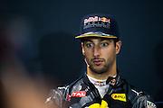 May 25-29, 2016: Monaco Grand Prix. Daniel Ricciardo (AUS), Red Bull, fia press conference