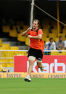 Burt Cockley of Perth Scorchers during a practice session before the start of match 4 of the Karbonn Smart Champions League T20 (CLT20) 2013  between The Highveld Lions and the Perth Scorchers held at the Sardar Patel Stadium, Ahmedabad on the 23rd September 2013<br /> <br /> Photo by Pal PIllai-CLT20-SPORTZPICS  <br /> <br /> Use of this image is subject to the terms and conditions as outlined by the CLT20. These terms can be found by following this link:<br /> <br /> http://sportzpics.photoshelter.com/image/I0000NmDchxxGVv4