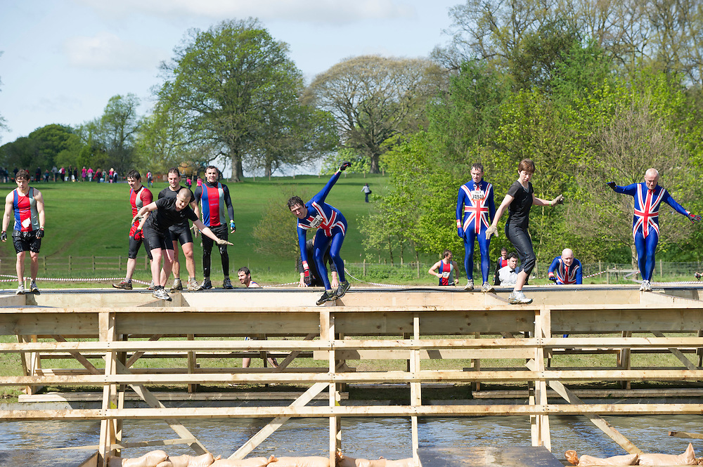 Tough Mudder - May 2012 - Northamptonshire - Balance Bars