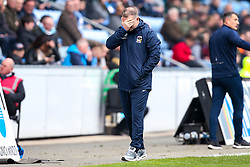 Coventry City manager Mark Robins cuts a dejected figure - Mandatory by-line: Robbie Stephenson/JMP - 07/04/2019 - FOOTBALL - Ricoh Arena - Coventry, England - Coventry City v Bristol Rovers - Sky Bet League One