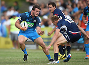 Matt Moulds during a pre season Super Rugby match. Blues v Storm, Pakuranga Rugby Club, Auckland, New Zealand. Thursday 4 February 2016. Copyright Photo: Andrew Cornaga / www.Photosport.nz