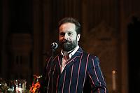 Alfie Boe performs during the Nordoff Robbins Carol Service 2019, St Luke's Church, Chelsea, London, UK, Tuesday 10 December 2019<br /> Photo JM Enternational