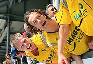 27-05-2007: Voetbal: VVV Venlo - RKC Waalwijk: Venlo<br /> RKC Waalwijk is gedegradeerd naar de Jupiler League.<br /> Frank van Kouwen is blij <br /> foto : Geert van Erven