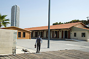 Israel, Tel Aviv, Neve Tzedek, Hatachana complex, a renovated Ottoman train station