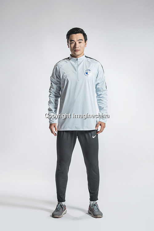 **EXCLUSIVE**Portrait of Chinese soccer player Zhao Xuebin of Dalian Yifang F.C. for the 2018 Chinese Football Association Super League, in Foshan city, south China's Guangdong province, 11 February 2018.