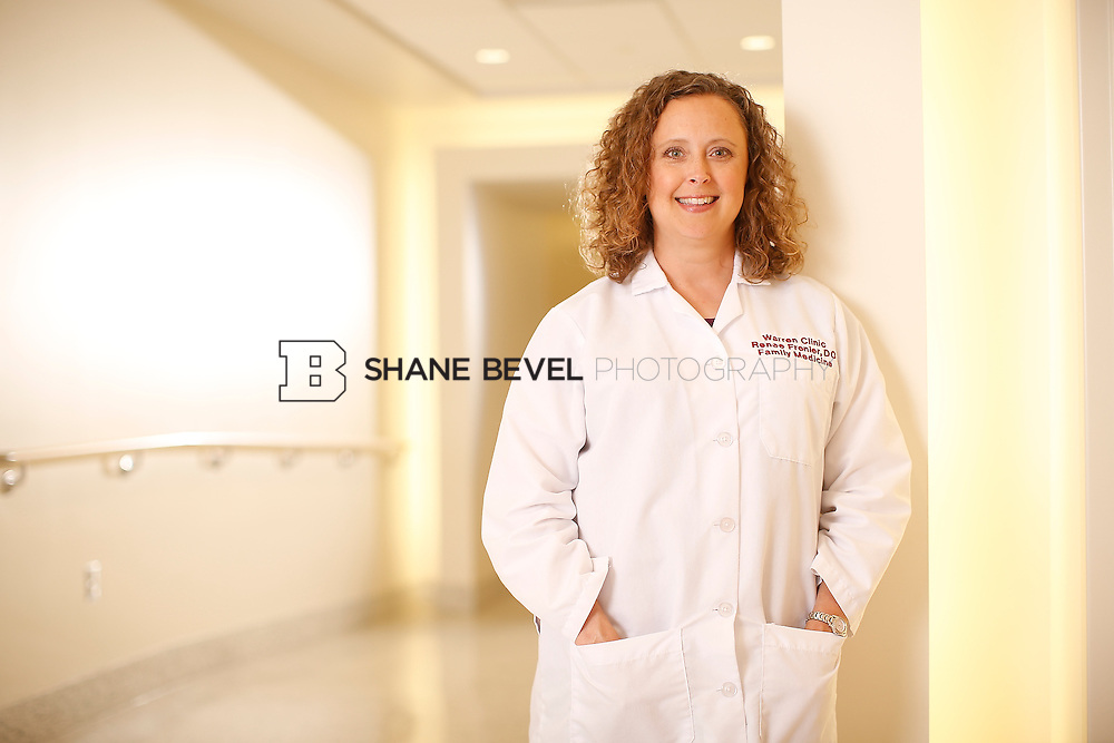 5/28/15 4:18:45 PM -- Dr. Renee Frenier of Saint Francis Health System poses for a portrait for the 2015 Advertising Campaign. <br /> <br /> Photo by Shane Bevel
