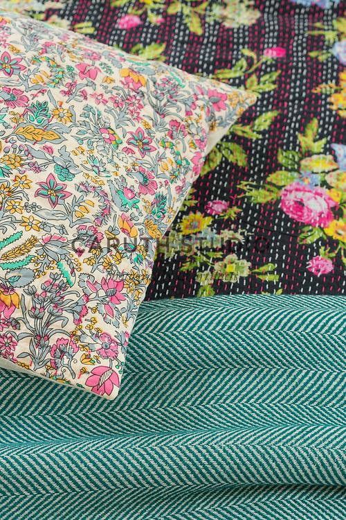 Detail of bedding patterns