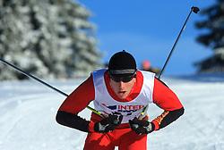 Austrian cross-country skier Markus Keplinger at 10th OPA - Continental Cup 2008-2009, on January 17, 2009, in Rogla, Slovenia.  (Photo by Vid Ponikvar / Sportida)