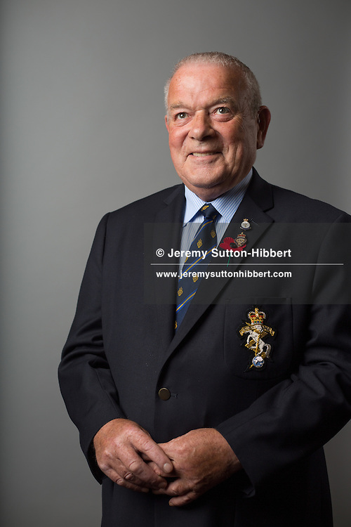 Charlie Brown, National Chairman of Legion Scotland, in Scotland, on 11 August 2016.