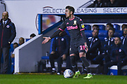 Leeds United midfielder Pablo Hernandez (19) in action during the EFL Sky Bet Championship match between Reading and Leeds United at the Madejski Stadium, Reading, England on 26 November 2019.