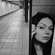 Somewhere in the New York City Subway System