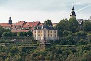 Dornburg mit Rokokoschloss, Dornburger Schlösser, Dornburg, Thüringen, Deutschland | Dornburg with Rokoko palace, Dornburg castles, Dornburg, Thuringia, Germany