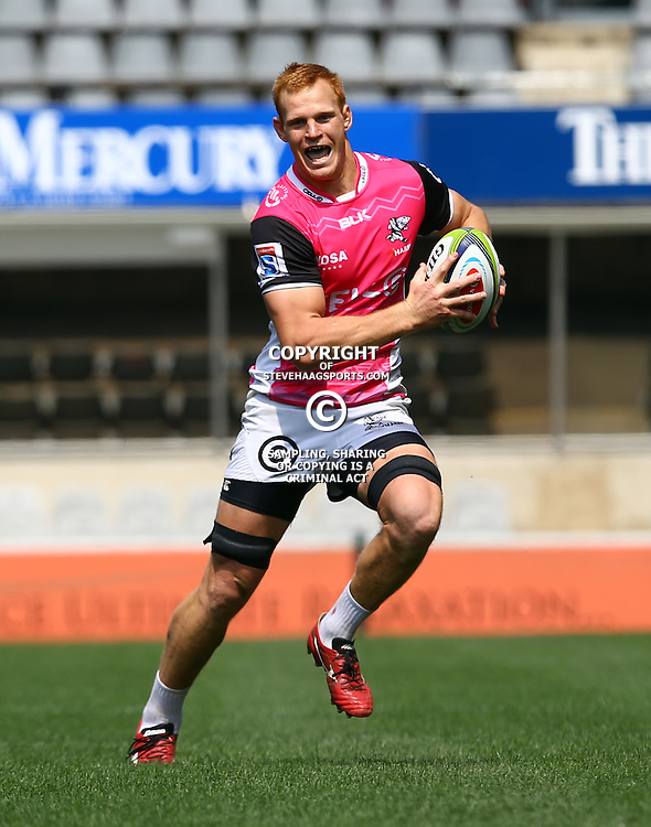 DURBAN, SOUTH AFRICA, 8 September, 2016 - Phillip van der Walt during The Cell C Sharks training session at Growthpoint Kings Park in Durban, South Africa. (Photo by Steve Haag)<br /> <br /> images for social media must have consent from Steve Haag