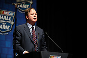 February 8, 2013: NASCAR Hall of Fame induction ceremony. Brian France