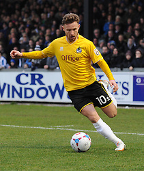 Bristol Rovers' Matt Taylor in action during the Vanarama Conference match between Bristol Rovers and Lincoln City at The Memorial Stadium on 7 February 2015 in Bristol, England - Photo mandatory by-line: Paul Knight/JMP - Mobile: 07966 386802 - 07/02/2015 - SPORT - Football - Bristol - The Memorial Stadium - Bristol Rovers v Lincoln City - Vanarama Conference