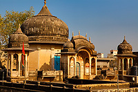 rooftop house in Mandawa rajasthan state in india