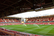 The City ground ahead of the EFL Sky Bet Championship match between Nottingham Forest and Birmingham City at the City Ground, Nottingham, England on 14 October 2016. Photo by Jon Hobley.