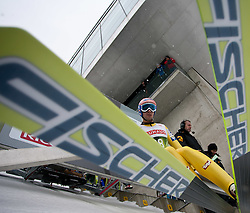 02.01.2011, Bergisel, Innsbruck, AUT, Vierschanzentournee, Innsbruck, Training, im Bild // Kofler Andreas (AUT) // during the 59th Four Hills Tournament Training in Innsbruck, EXPA Pictures © 2011, PhotoCredit: EXPA/ J. Feichter