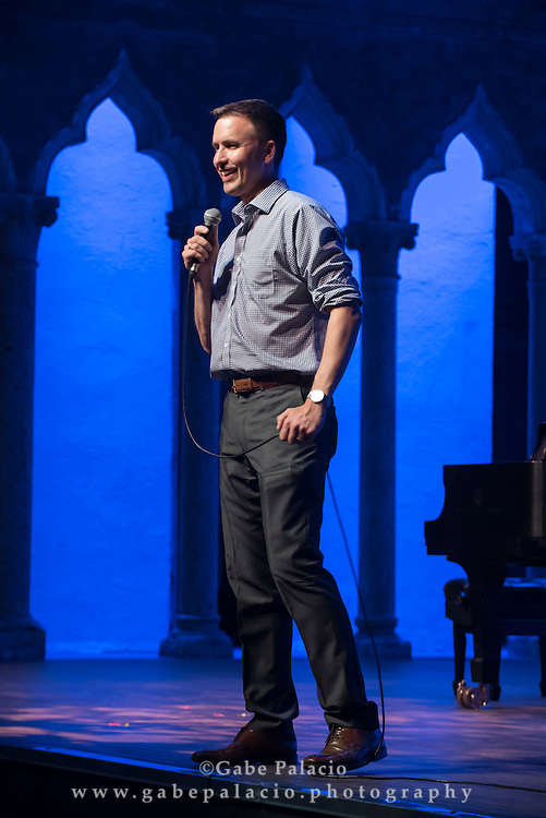 Songs America Loves to Sing, Music from Copland House, performance featuring Jorell Williams, baritone, Carol Wincenc, flute, Meighan Stoops, clarinet Gary Levinson, violin, Alexis Pia Gerlach, cello, and Michael Boriskin, piano, in the Venetian Theater at Caramoor in Katonah New York on July 22, 2016. <br /> (photo by Gabe Palacio)