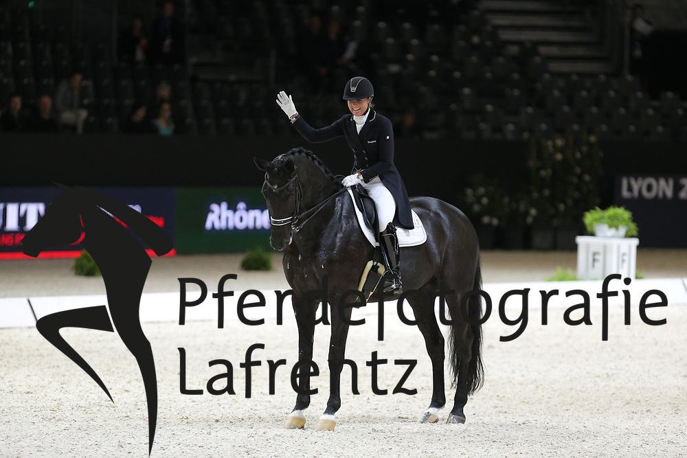 Heijkoop, Danielle, Kingsley Siro<br /> Lyon - Weltcup Finale<br /> Kür<br /> © www.sportfotos-lafrentz.de/Stefan Lafrentz